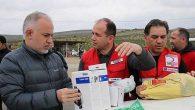 Kızılay'dan Suriye'ye koruyucu kit desteği …