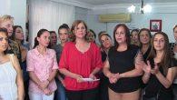 Samandağ'da Kadın Dayanışması Şiddeti Kınıyoruz…