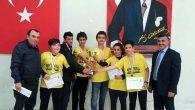 İnönü Ortaokulu Satrançta Hatay Şampiyonu