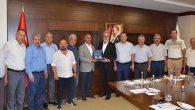 Başkan Culha'dan İTSO'ya hayırlı olsun ziyareti