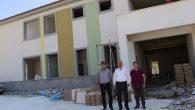 Karahan  İnşa Halindeki Okulları  Geziyor