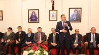 Başkan Savaş, Hıristiyan cemaatinin coşkusuna ortak oldu …