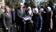 Afrin'de karne dağıtımı…