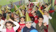 Kreş öğrencilerinin yeni yıl coşkusu