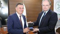 AB Büyükelçilerinden Başkan Savaş'a ziyaret …
