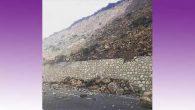 Kıcı'da toprak kayması