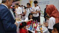 Liseli Fuarında  Robotik Eserler