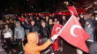 Antakya'da Mehmetçiğe Destek Yürüyüşü