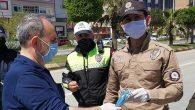 Polise Ücretsiz Maske ve Kolonya
