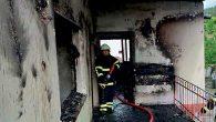 Evde Çıkan Yangın Kontrol Altına Alındı