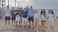 Arsuz'da CHP'li Gençler  sahil temizliği yaptı