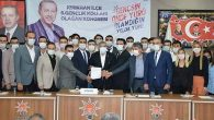 AKP'de 3 İlçe Başkanı