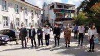 KOVİD önlemleri denetlemesi Samandağ'da: