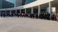 Hastanede Atatürk İçin  Saygı Duruşu