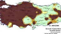 Kuraklık haritasında…
