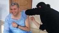 Kaymakam aşı oldu