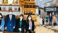 Başkan ziyareti, kadın işyerlerine…
