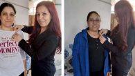 CHP'de yeni üye kadınlara rozet