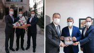AKP İl Başkanı,  Partililerle Kütüphanede…