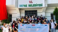 Avrupalı Öğrenciler Defne Belediyesinde