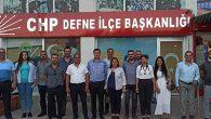 Defne CHP İlçe Yönetimi bildiri yayınladı