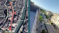 Atatürk caddesi trafiğe kapalı