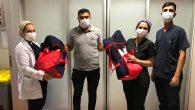 Suriyeli Prematüre İkizler, entübe halde Türkiye'ye getirildi!