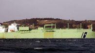277 Metre uzunluğundaki gemi  Hatay deniz sularında