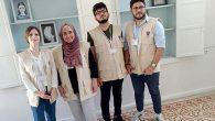Suriyeli 4 Genç Sergi Açtı