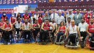 Türk ve Suriyeli Engelliler  basketbol maçı oynadı