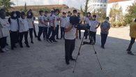 Fen Liseliler Teleskop İle  Gökyüzünü İnceledi