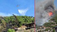 Habib-İ Neccar ormanlık yangını 3 saatte söndürüldü