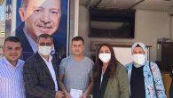 Milletvekili Özgürsoy,  sokakta üye kaydı yaptı…