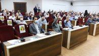 Ovakent'teki çok amaçlı salona kütüphane
