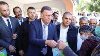 """Hatay Büyükşehir Belediyesi """"Halk Süt"""" Projesi başlattı"""