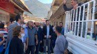 CHP İlçe Başkanı Çarşıda, Pazarda…