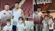 Hatayspor sevdalısı Baba'nın, çocuklarıyla Bordo-Beyaz sevgisi: