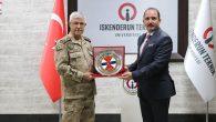 Jandarma Genel Komutanı Ziyareti İSTE'ye