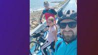 Sahil boyu pedal ve güzel bir tesadüf