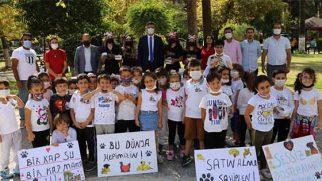Okullarda 4 ekim hayvanları koruma günü