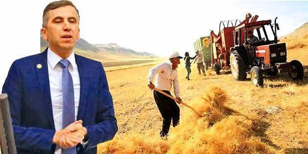Spora milyonlarca lira destek verilirken çiftçinin traktörünü haczetmek vicdansızlık